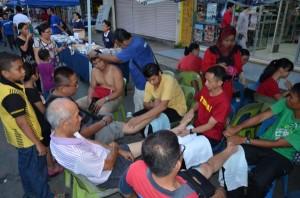 Saturday Night Public Massage Stall